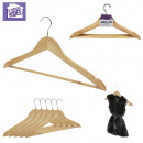 wholesale Laundry: wooden hanger x5, 1-times assorted