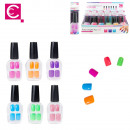 false nails neon x12 6 colors, 6-times assorted