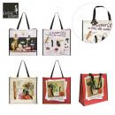Großhandel Taschen & Reiseartikel: Ludik  Einkaufstasche, 4-Zeit sortiert