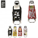 wholesale Kids Vehicles: shopping trolley  Ludik, 4-times assorted