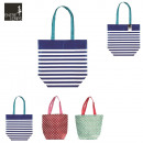 Shopping bag  46x20x38cm city, 3-times assorted