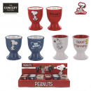 wholesale Crockery:eggcup, 3-times assorted