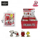 gum Snoopy x4, 1-times assorted