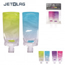 wholesale Drugstore & Beauty: foldable travel  bottle 90ml x 2, 2-times assorted