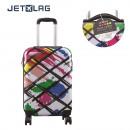 groothandel Koffers & trolleys: colorée cabine  koffer, 1-time geassorteerd