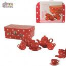 wholesale Garden & DIY store: dinette porcelain  x14, 1-times assorted