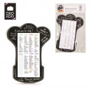 wholesale Other: memo magnet toque  list of races, 2-times assorted