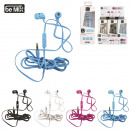 earphones  handsfree kit, 4-times assorted