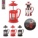 wholesale Crockery: cafetiere has  piston 350ml, 3-times assorted