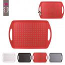 wholesale Houshold & Kitchen: Anti slip tray  45.5x31cm, 4-times assorted
