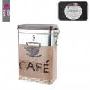 wholesale Irons: High metal coffee  box, 1-times assorted