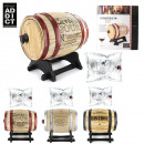 wholesale Home & Living: 3l wine barrel  distributor, 3-times assorted