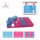 wholesale Care & Medical Products: pillbox  detachable, 3-times assorted