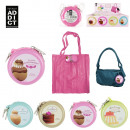 bag foldable  shopping gluttony, 4-times assorted
