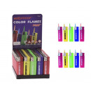 wholesale Lighters: Storm Lighter Colorful flame jet