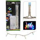 Großhandel Lichterketten: 10er LED  Lichterkette bunt multicolor