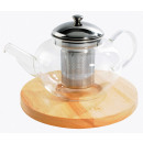 wholesale Kitchen Gadgets: theire in Laguiole  glass with its wooden base tr