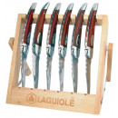 Laguiole knives wood finish paulhe