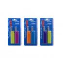 groothandel Kaarsen & standaards: mini LICHTER ALL  PROF cobia modekleuren Assor