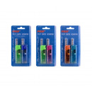 groothandel Home & Living: mini LICHTER ALL  PROF cobia transparant -2pc