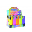 PROF Lighter turbo  flame fashion colors assorted