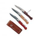 hunting knives Laguiole corkscrew fait