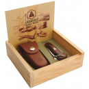 wholesale Cutlery: box Laguiole knife  marine / Case sauveterre