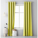 Curtain Aura 140 x 250 Yellow