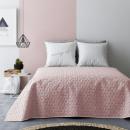 Großhandel Bettwäsche & Matratzen: Tagesdecke Next  Bloggy Pink & Light Grey 220 x 240