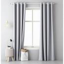 Großhandel Vorhänge & Gardinen: Vorhang Aura 140 x 250 Light Grey