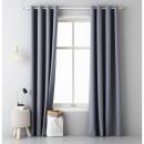 Großhandel Vorhänge & Gardinen: Vorhang Aura 140 x 250 Dark Grey