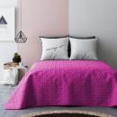 Großhandel Bettwäsche & Matratzen: Tagesdecke Next  Pink & Dark Grey 220 x 240
