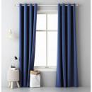groothandel Vitrage & Gordijnen: Gordijn Aura 140 x 250 Dark Blue