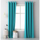 wholesale Curtains & Drapery: Aura curtain 140 x 250 Turquoise