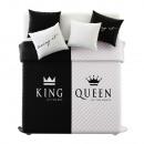 Großhandel Bettwäsche & Matratzen: Tagesdecke King & Queen 220 x 240