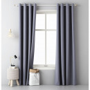 wholesale Curtains & Drapery: Aura curtain 140 x 250 Dark Grey