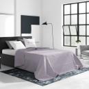 Großhandel Bettwäsche & Matratzen: Tagesdecke Bueno  Light Purple 200 x 220
