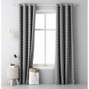 wholesale Curtains & Drapery: Curtain Henley Dark Gray 140 x 250