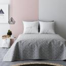 grossiste Linge de lit & Matelas: Couvre Lit Next Light Grey & White 200 x 220