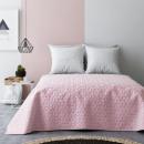Großhandel Bettwäsche & Matratzen: Tagesdecke Next  Bloggy Pink & Light Grey 170 x 210