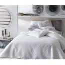 Großhandel Bettwäsche & Matratzen: Tagesdecke Bueno White 200 x 220