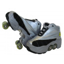 wholesale Sports and Fitness Equipment: Kick Roller Skate Shoes Silver Color