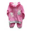 Großhandel Fashion & Accessoires:Baby-Set Velours