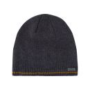 Roadsign Men's fine knitted hat, anthracite, O