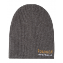wholesale Headgear: Roadsign Men's logo knitted hat, anthracite, O