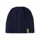 wholesale Headgear: Roadsign Men's knitted hat Snowmelange, marine