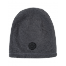 Roadsign Men's fleece hat logo, gray melange /