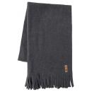Großhandel Tücher & Schals: Roadsign Fleece Schal, grau melange/anthrazit, ...