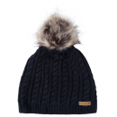 wholesale Headgear: Roadsign Bommel knitted hat, marine, one size