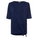 Großhandel Shirts & Tops: Damen Kimonoshirt Simple Knot, navy